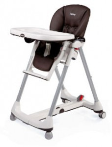 High chair faux leather or pvc the blog of peg perego for Chaise haute prima pappa diner savana cacao