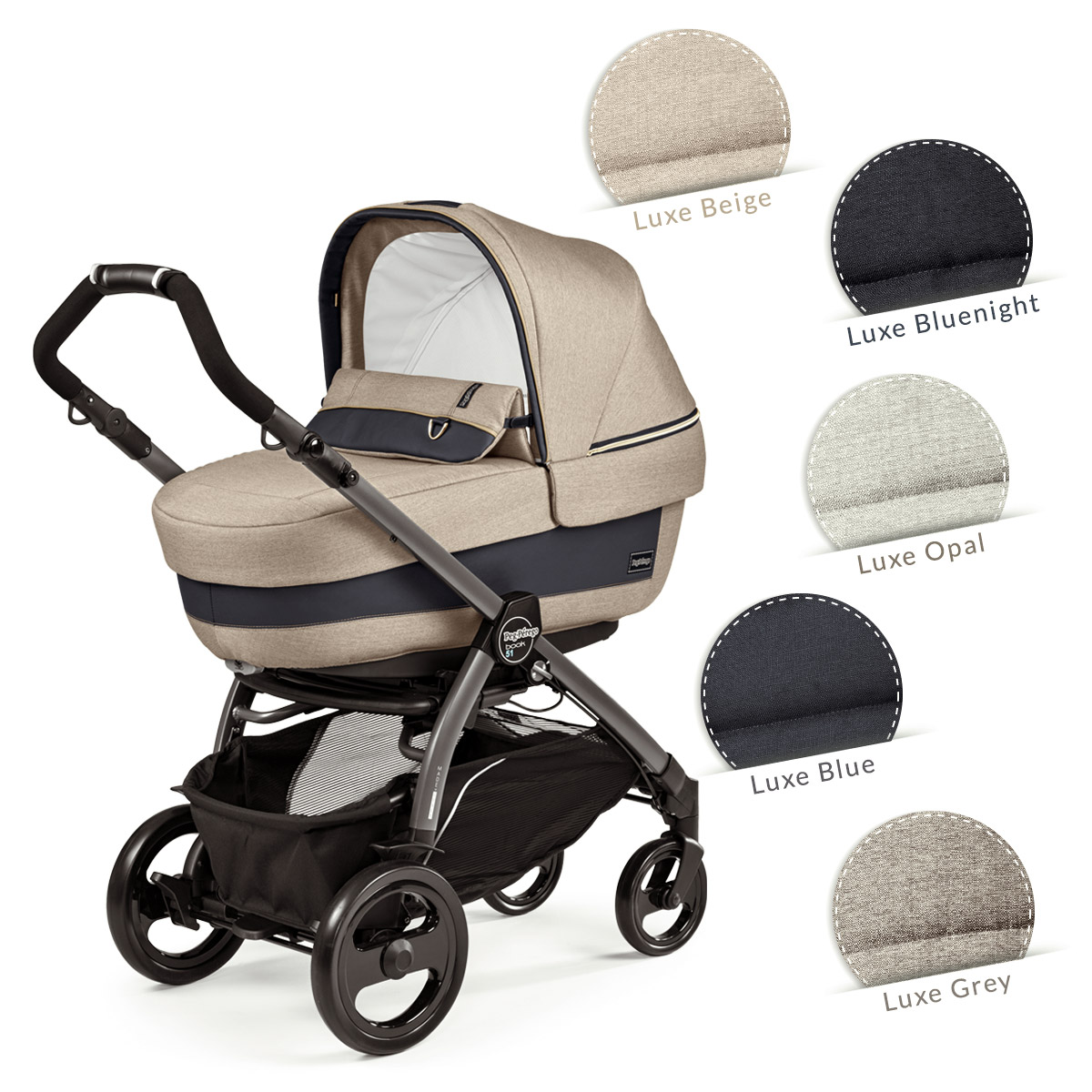 modular systems peg perego collections 2018 luxe