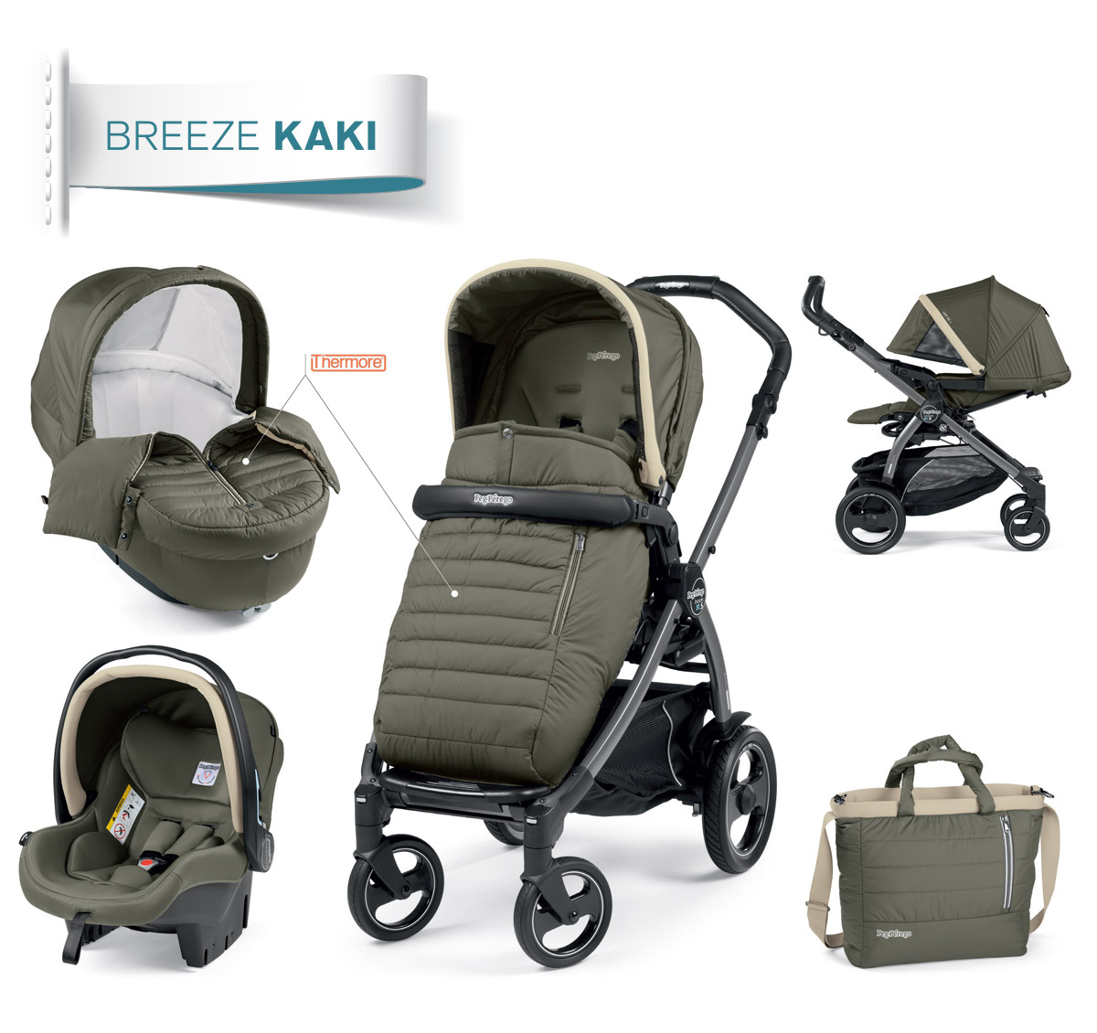 modular system kaki collection peg perego