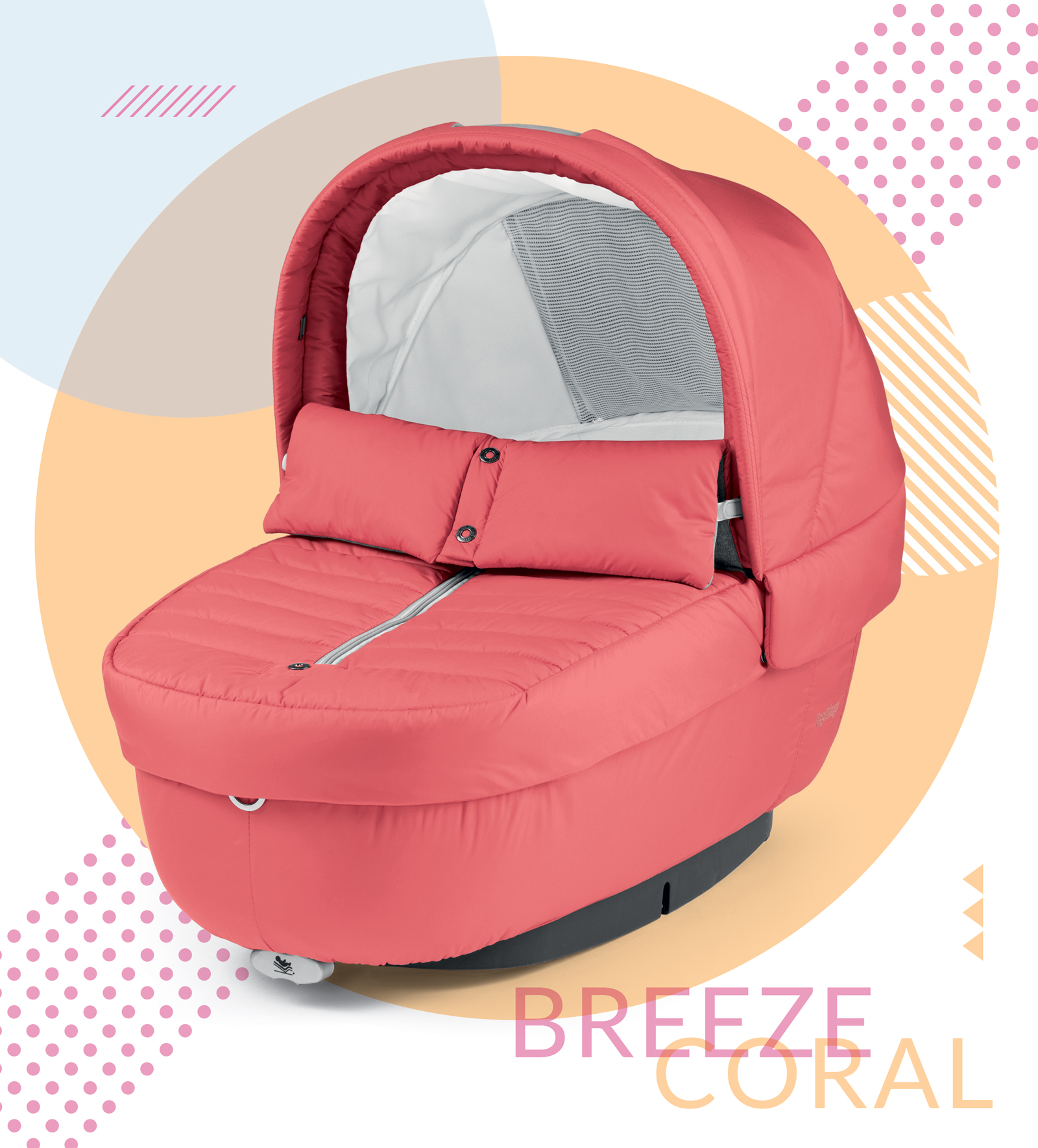 Navetta Elite Breeze Coral Peg Perego