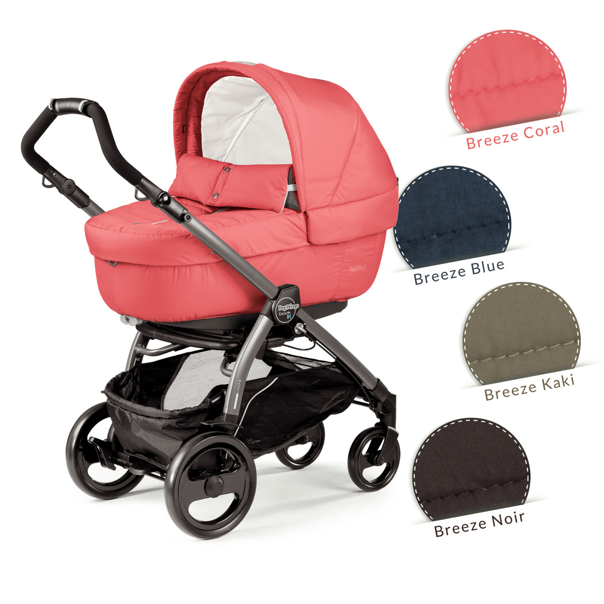 modular system breeze coral collection peg perego