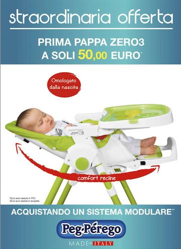 seggiolone Prima Pappa Zero3