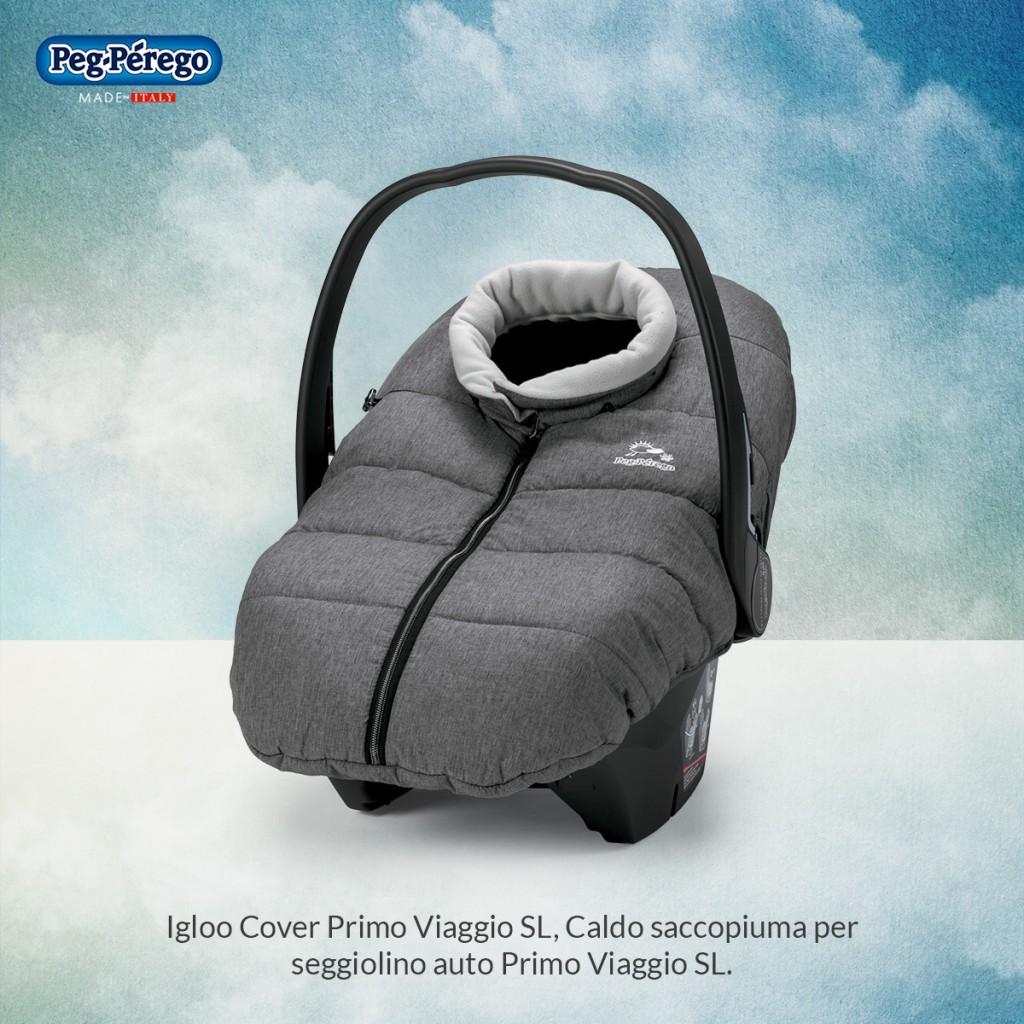 viaggiare in inverno con i bambini igloo peg perego