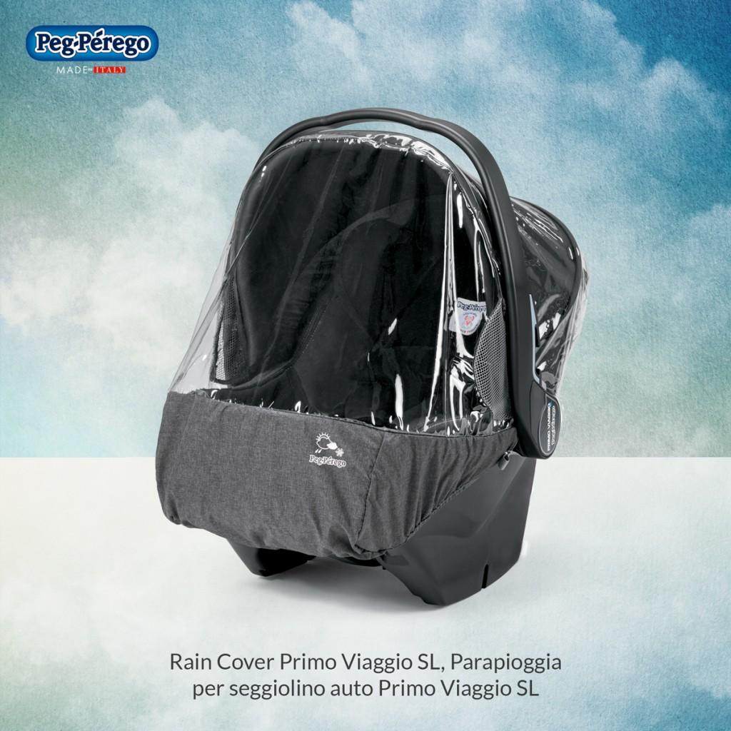 viaggiare in inverno con i bambini rain cover