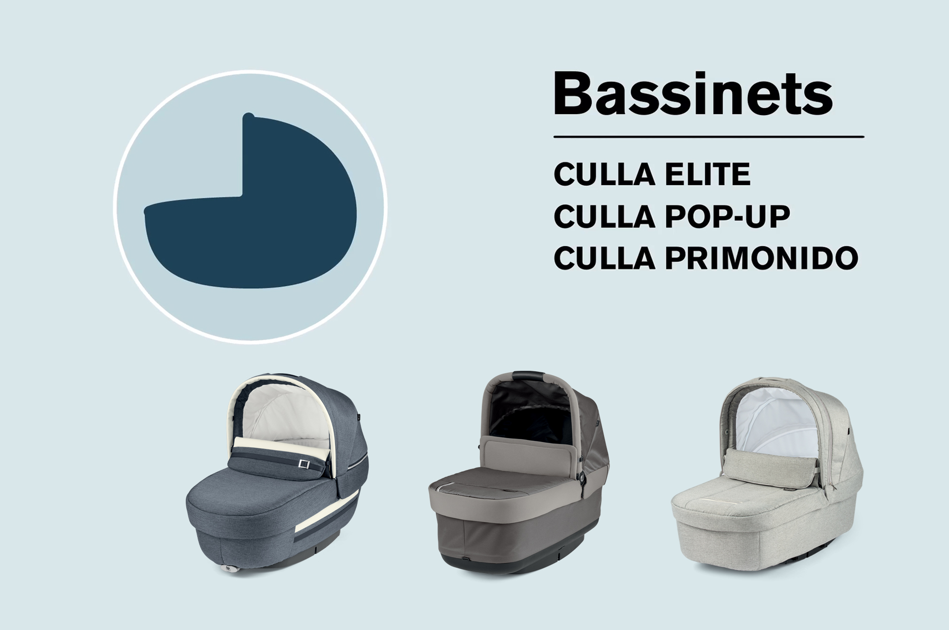 Make your choice peg perego bassinet