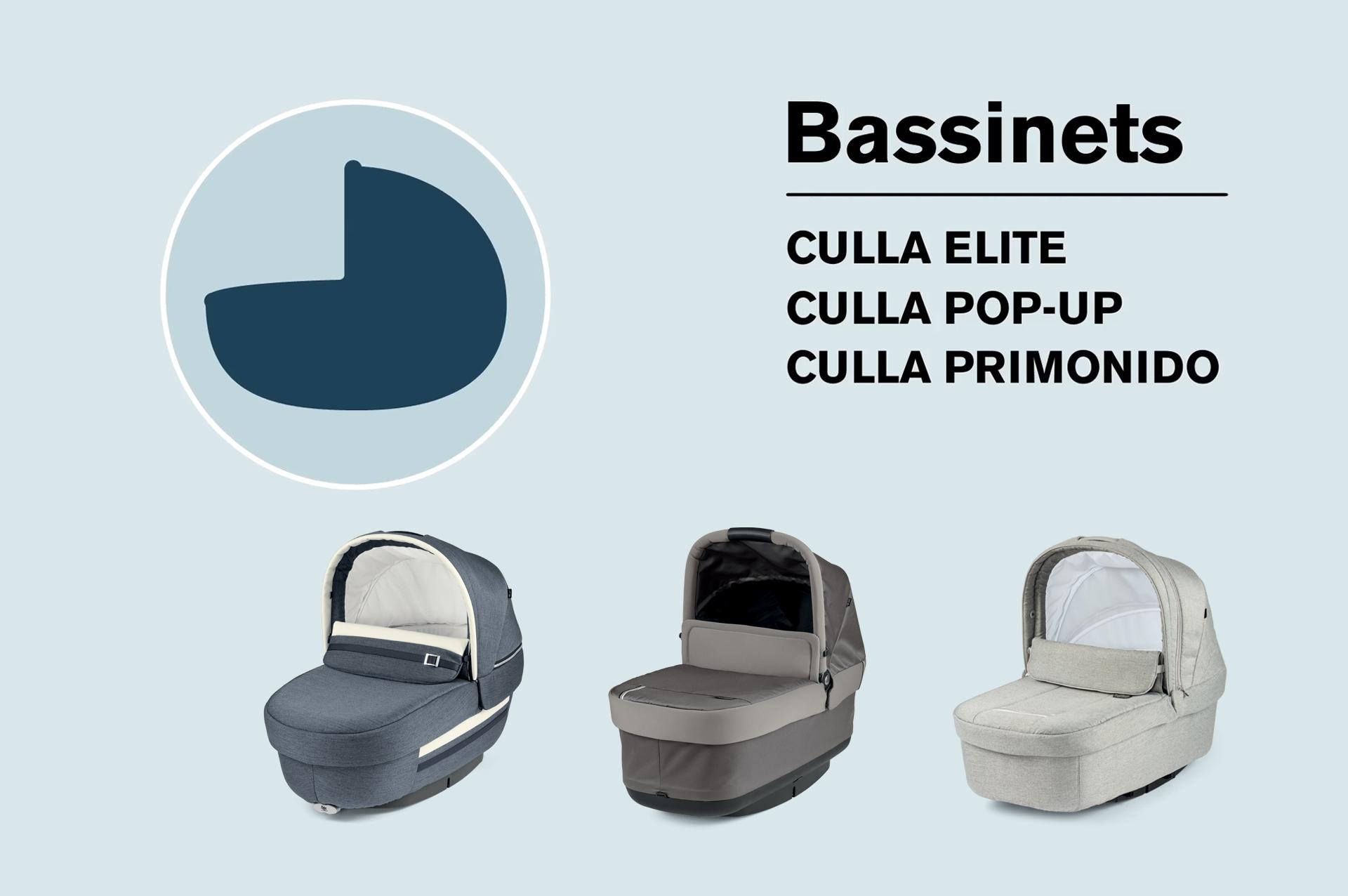 Make your choice peg perego bassinet