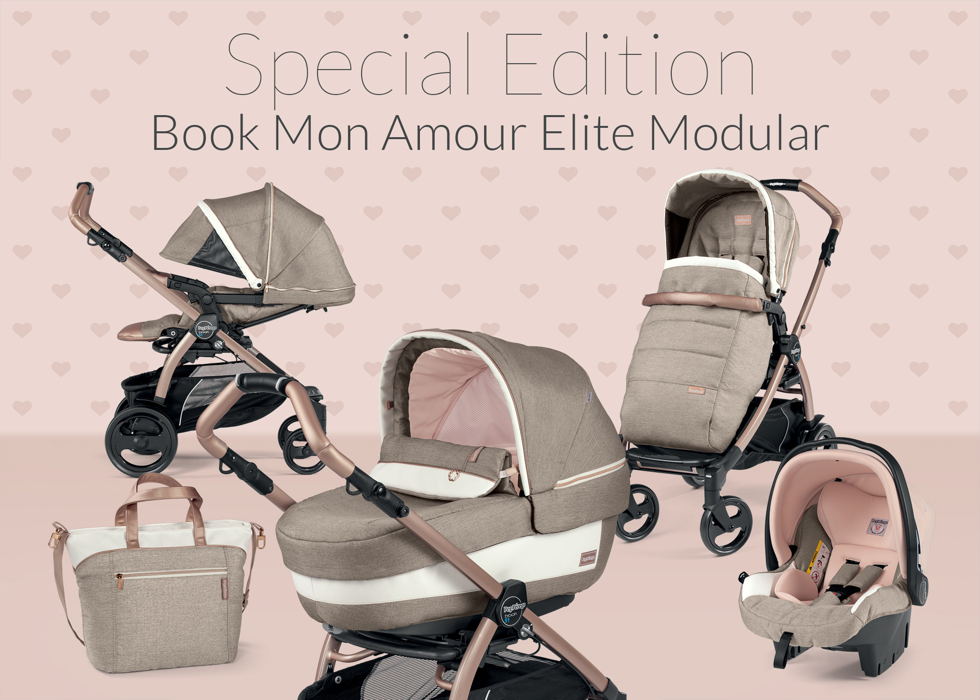 peg perego special edition mon amour